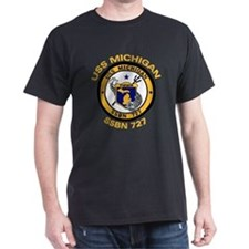 SSBN 727 USS Michigan T-Shirt