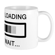 Tantrum Loading Please Wait Mug