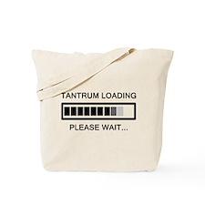 Tantrum Loading Please Wait Tote Bag