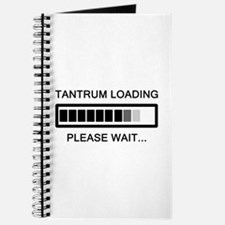 Tantrum Loading Please Wait Journal