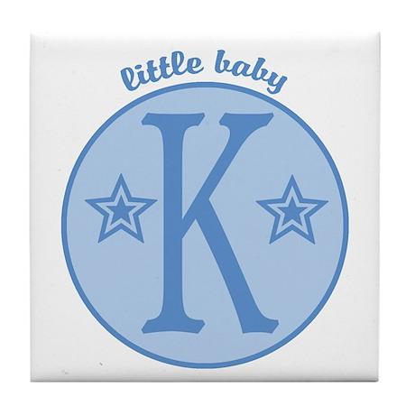 Baby K Tile Coaster