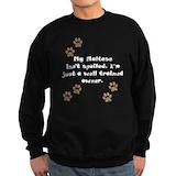 Maltese puppy hoodie Sweatshirt (dark)