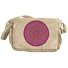 purple mandala Messenger Bag