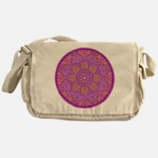 purple mandala Messenger Bag
