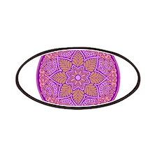 purple mandala Patches