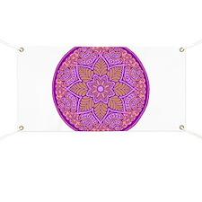 purple mandala Banner