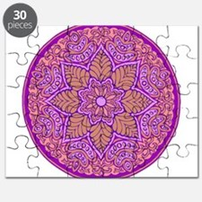purple mandala Puzzle