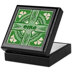 Symbols of Ireland Keepsake Box