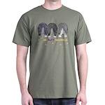 Nothin' Butt Sheepdogs Green T-Shirt