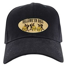 Vintage Halloween Ball Baseball Hat