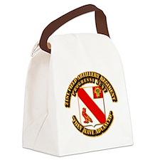 Army - 21 FA Regt Canvas Lunch Bag
