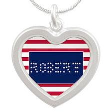 ROBERT Silver Heart Necklace
