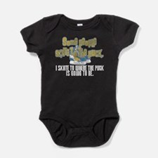 Skate Where The Puck Is Going To Be Baby Bodysuit