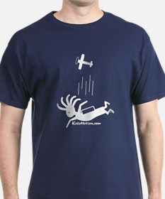Kokopelli Skydiver T-Shirt