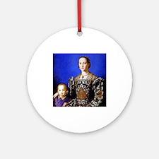 Bronzino - Eleonora di Toledo Ornament (Round)