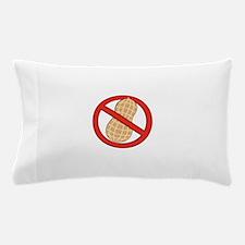 STOP. NO PEANUTS. PEANUT ALLERGIES Pillow Case