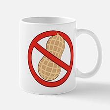 STOP. NO PEANUTS. PEANUT ALLERGIES Mug
