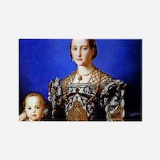 Bronzino - Eleonora di Toledo Rectangle Magnet