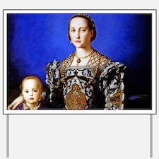 Bronzino - Eleonora di Toledo Yard Sign