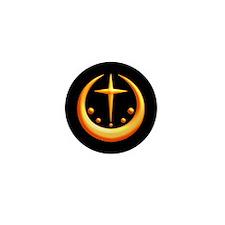 Xen Moon Symbol Mini Button