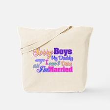 Sorry Boys Tote Bag