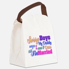 Sorry Boys Canvas Lunch Bag