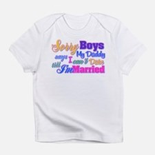 Sorry Boys Infant T-Shirt