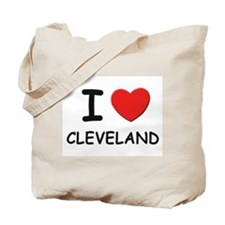 I love Cleveland Tote Bag