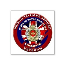 proud to be a royal engineer veteran Sticker