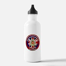 proud to be a royal engineer veteran Water Bottle