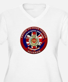 proud to be a royal engineer veteran Plus Size T-S