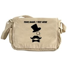 Personalized Mustache Face With Monocle Messenger