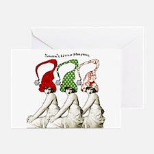 Santa's Christmas Elves Greeting Cards (Pkg/6)