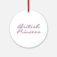 British Princess Ornament (Round)