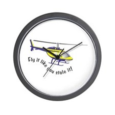 Fly It Like You Stole It! Wall Clock