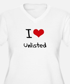I love Unlisted Plus Size T-Shirt