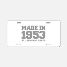 made-in-1953-fresh-gray Aluminum License Plate