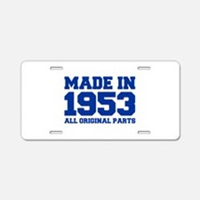 made-in-1953-fresh-blue Aluminum License Plate