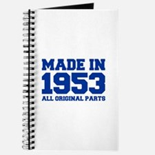 made-in-1953-fresh-blue Journal