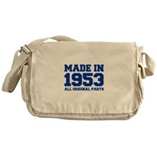 made-in-1953-fresh-blue Messenger Bag