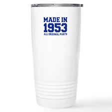 made-in-1953-fresh-blue Travel Mug