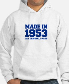 made-in-1953-fresh-blue Hoodie