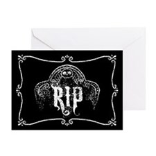 Halloween Tombstone RIP Greeting Cards (Pk of 10)