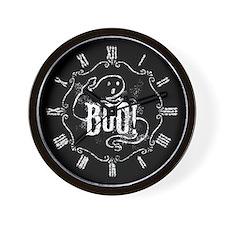 Halloween Ghost Boo Wall Clock