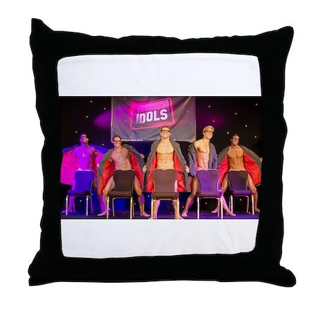 DREAM IDOLS GEEK CHIC Throw Pillow