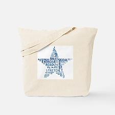 Running Star Tote Bag