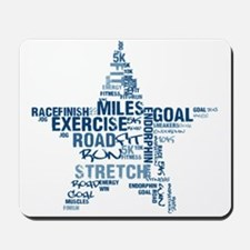 Running Star Mousepad