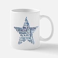 Running Star Mug