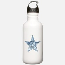 Running Star Water Bottle