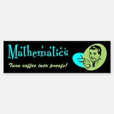 Major in... Mathematics Bumper Bumper Bumper Sticker